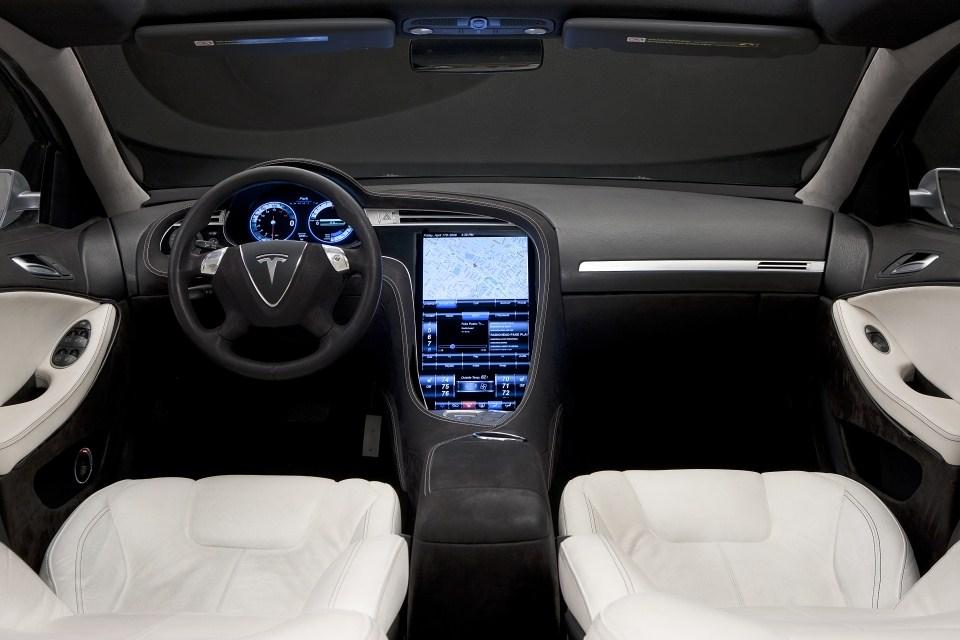 Tesla emplea energ a solar fotovoltaica para su coche for Interieur tesla model s