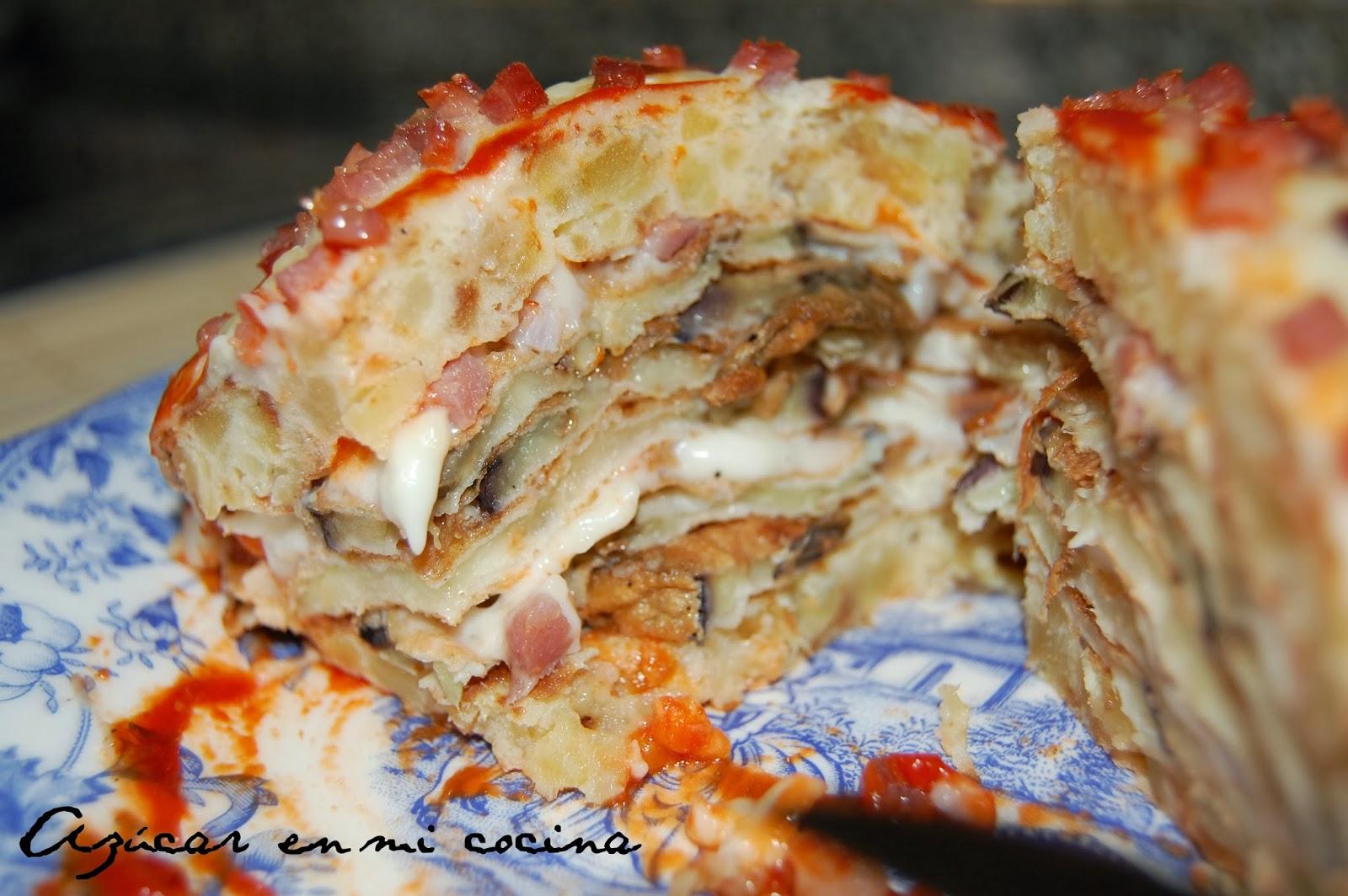 Az car en mi cocina milhojas creps de tortilla espa ola - Robo de cocina ...