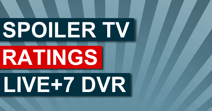 Live+7 DVR Ratings - Week 1 - 22nd Sept - 28th Sept 2014