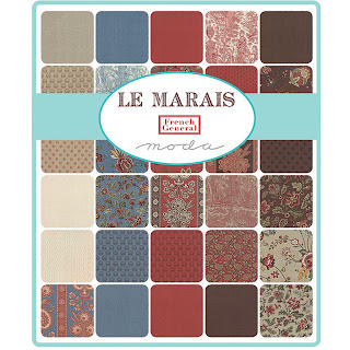 Moda Le Marais Fabric by French General for Moda Fabrics