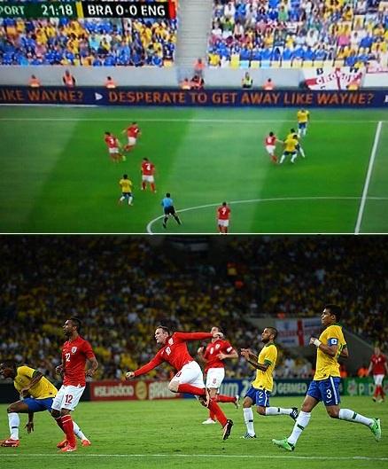 Brazil - England - ITV