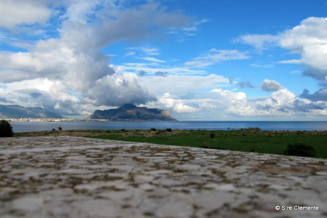 Monte Pellegrino visto da casa natia di Acqua dei Corsari