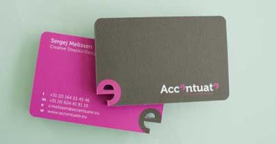 creativa tarjeta diseño