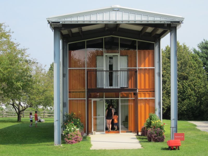 Country weekend shelburne museum - Shipping container homes for sale florida ...