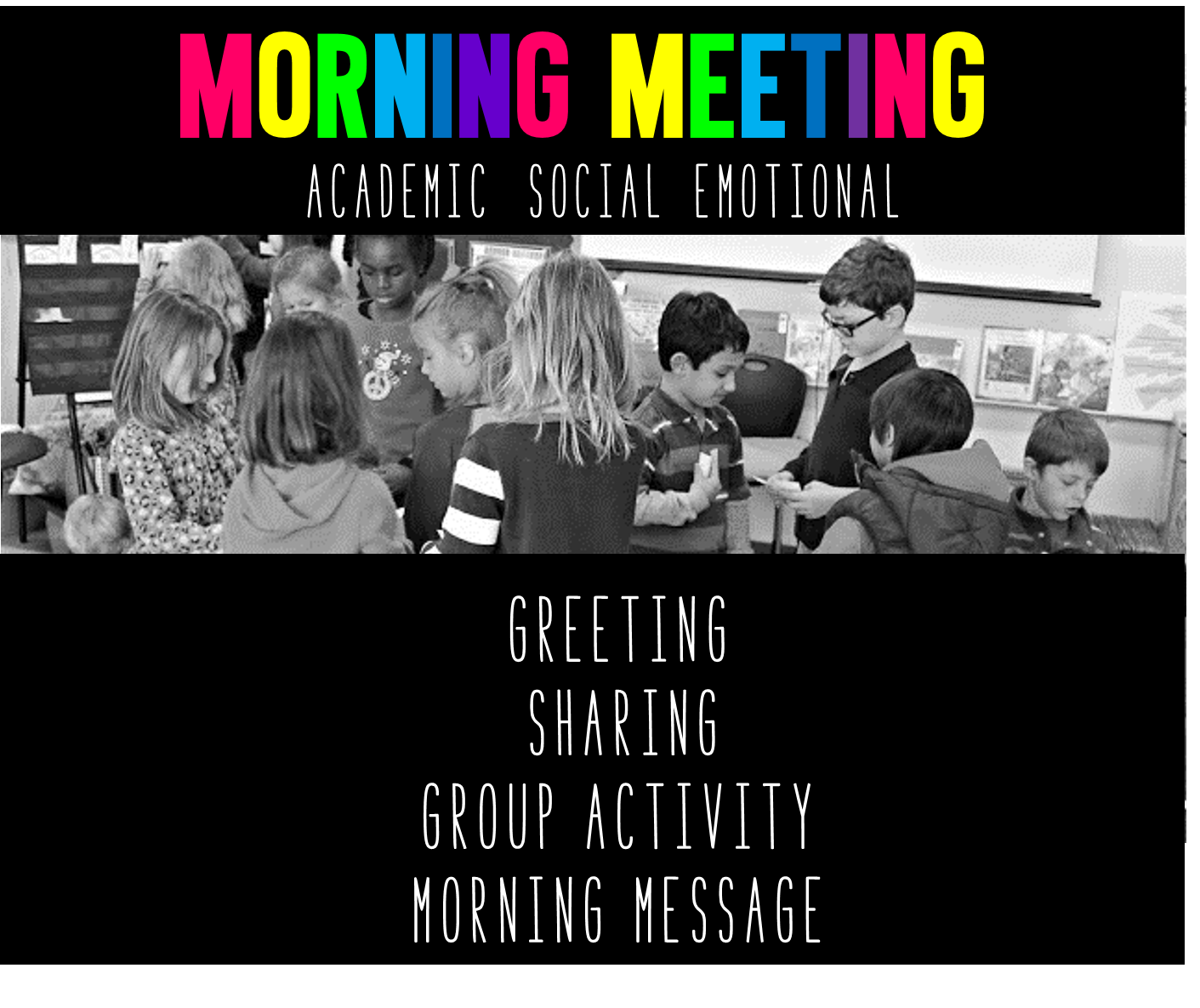 Morning meeting lets discuss tunstalls teaching tidbits morning meeting lets discuss m4hsunfo Choice Image