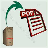Conversão de arquivos para o formato PDF