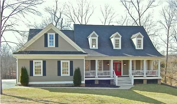 Louisville real estate with the joe hayden real estate for Front doors for cape cod style homes
