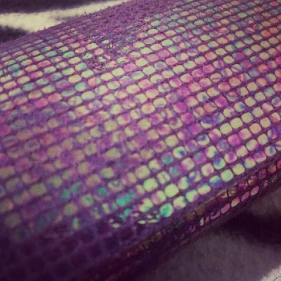 LensCases.co.uk Davina Purple close up