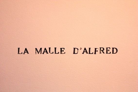 La malle d&#39;Alfred