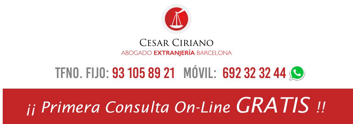 Abogado Extranjería Barcelona · Llame al: 692 32 32 44 · EXPERTOS EN INMIGRACIÓN
