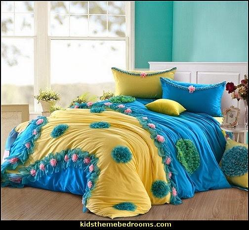 Princess Lace Ruffle Bedding Set