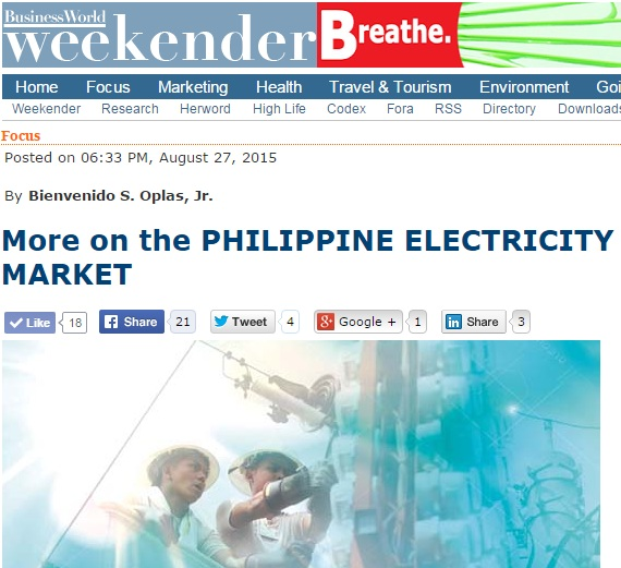 philippine electricity The new nea is a revitalized corporation focused on strengthening its partners in the rural electrification program, the electric cooperatives, by ensuring that they become more efficient.