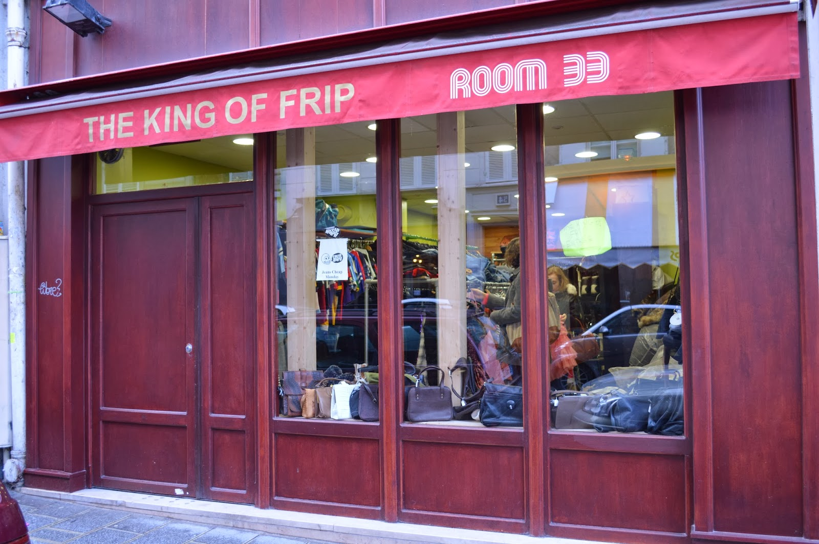 The King of Frip Vintage shopping in Le Marais Paris