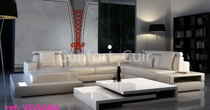 le blog belmon d co canap cuir le luxe du salon. Black Bedroom Furniture Sets. Home Design Ideas