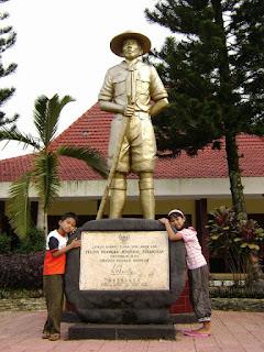 Monumen Tempat Lahir Jenderal Soedirman, Rembang - Purbalingga