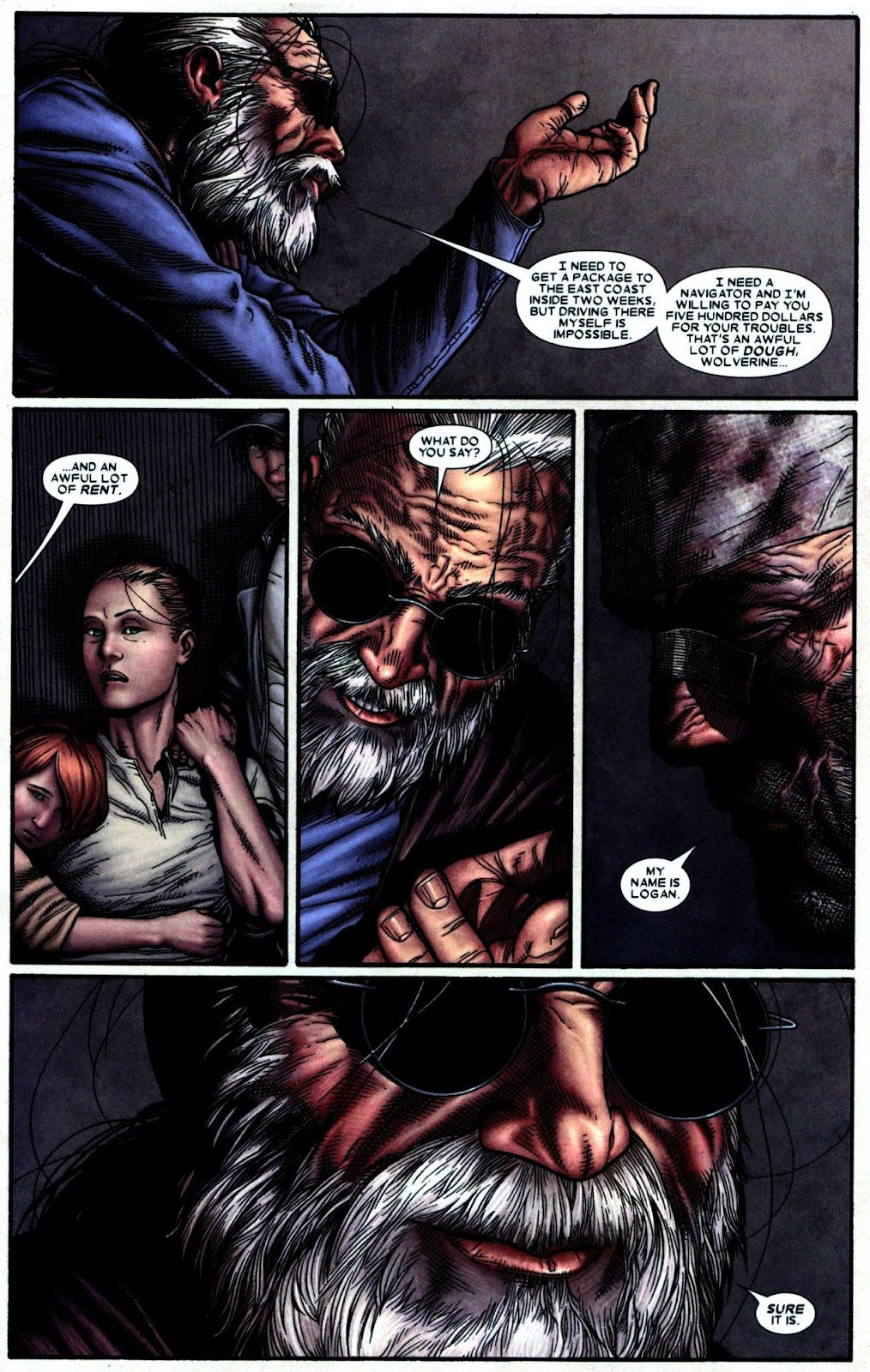 Read online Wolverine (2003) comic -  Issue #66 - 19