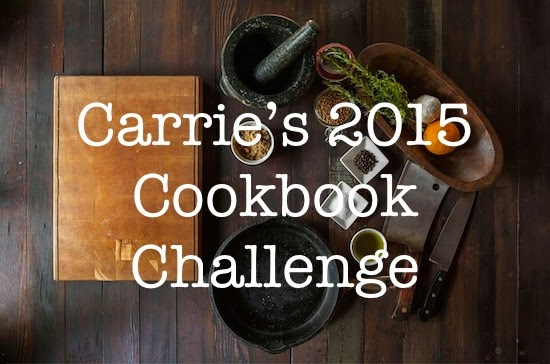 2015 Cookbook Challenge: January