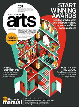 Computer Arts Magazine Issue 208 December 2012
