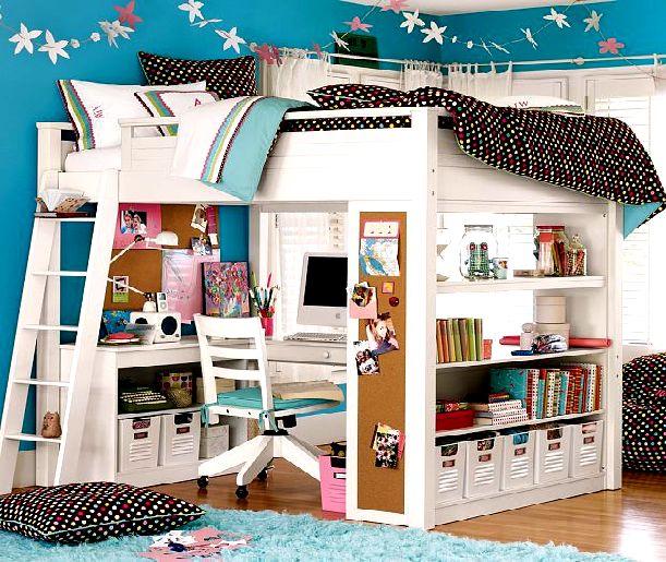 Decoraci n elegante para la habitaci n de los ni os con for Habitaciones para ninas 8 anos