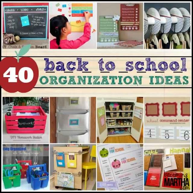 40 Back to School Organization Ideas