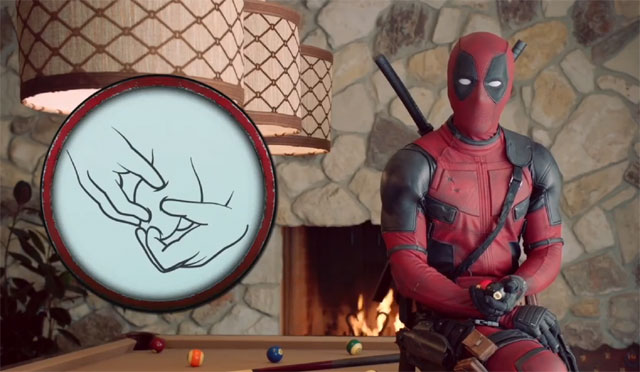 Deadpool Ring Pop Gif