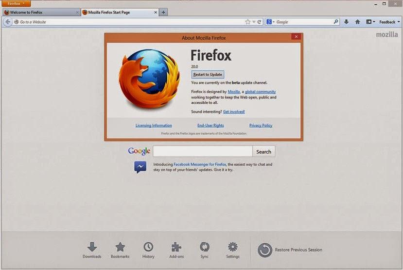 Mozilla Firefox Quantum 5900 Terbaru offline Installer