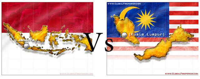 Adu Kuat Militer Indonesia dan Malaysia Versi Global Firepower