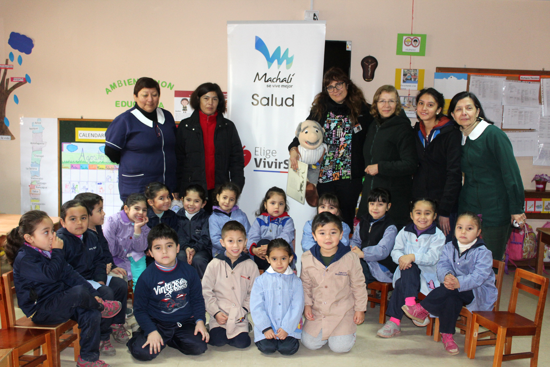 Salud machal alumnos del jard n infantil t a mirella for Azul naranja jardin de infantes