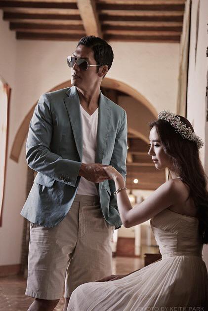 gods park jun hyung reveals his beautiful bride in