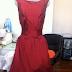 Projet contemporain : la petite robe en soie rouge