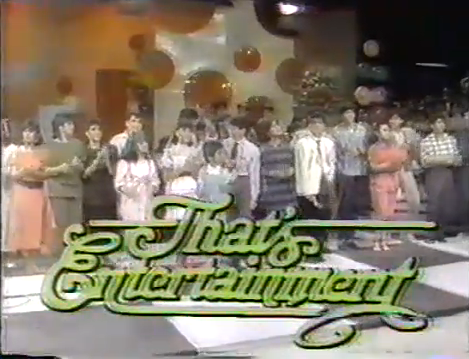 That's Entertainment Filipino youth variety show Retro Pilipinas Feature