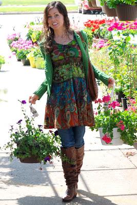Soul Flower Little Cowgirl Dress