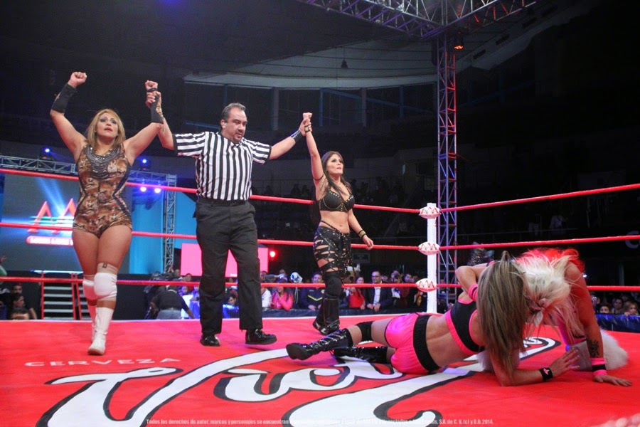 Faby Apache and Ivelisse vs Sexy Star and Taya Valkyrie