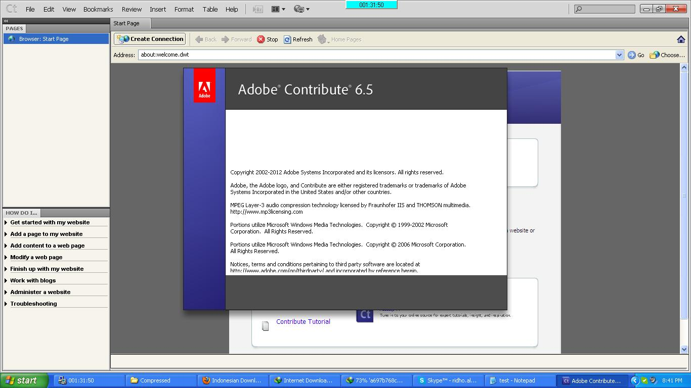 "0Comment to ""Adobe Contribute 6.5 Full Serial Number [Rapidshare"