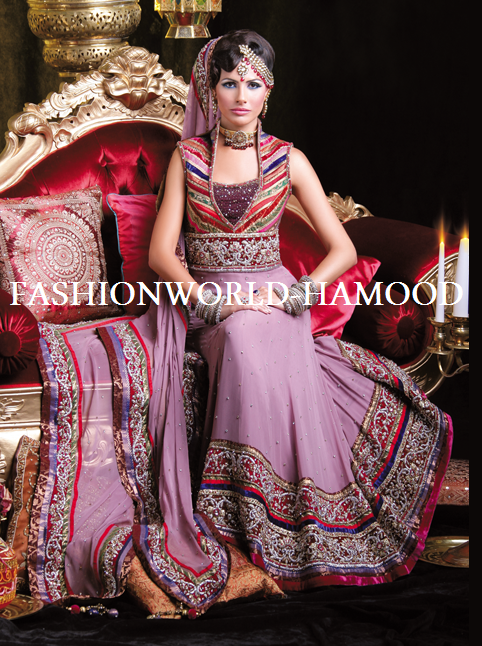 Pakistani style maxi dresses 2012