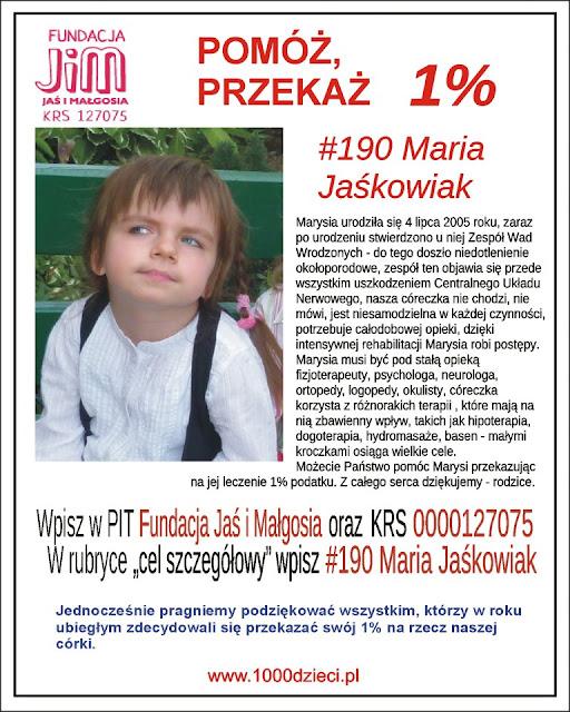 (234) Pomoc dla niepełnosprawnej Marysi. Pomożecie?