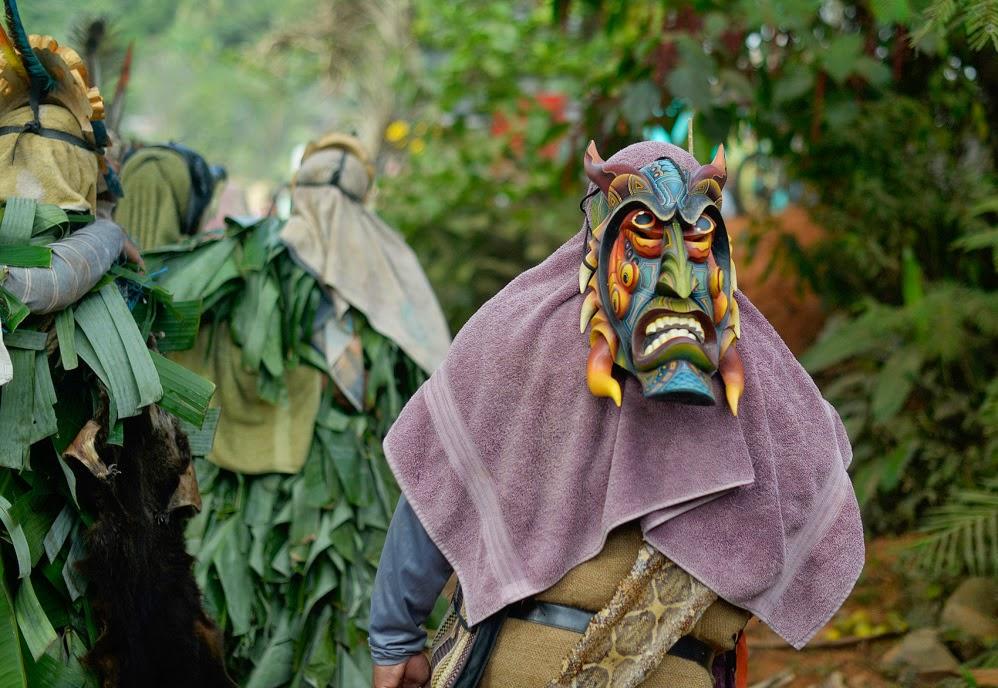 Baile de los Diablitos. Boruca, Costa Rica.