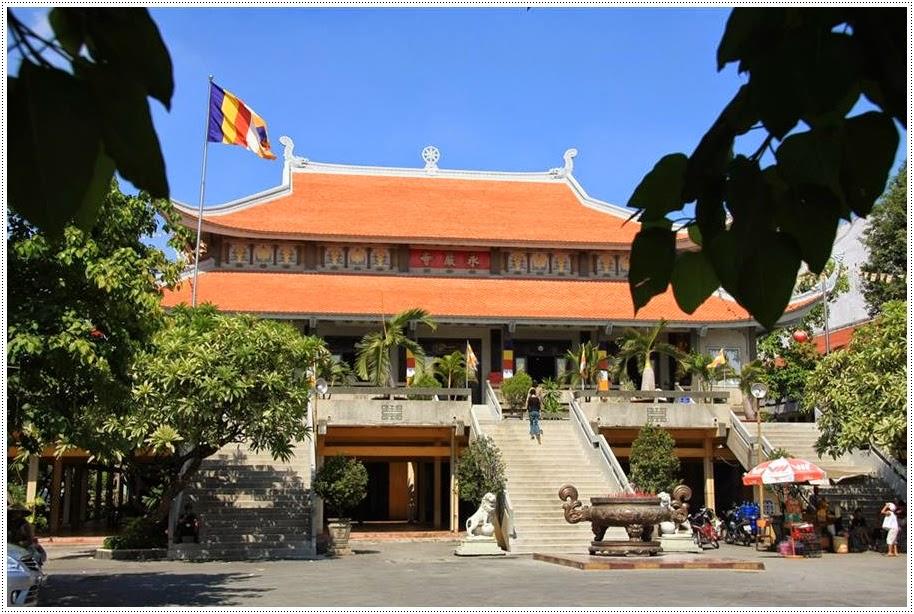 Chùa Vĩnh Nghiêm Saigon