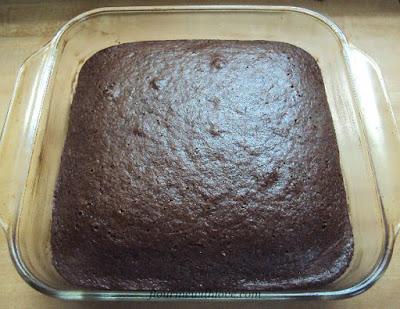 Wacky Cake, flourmewithlove.com