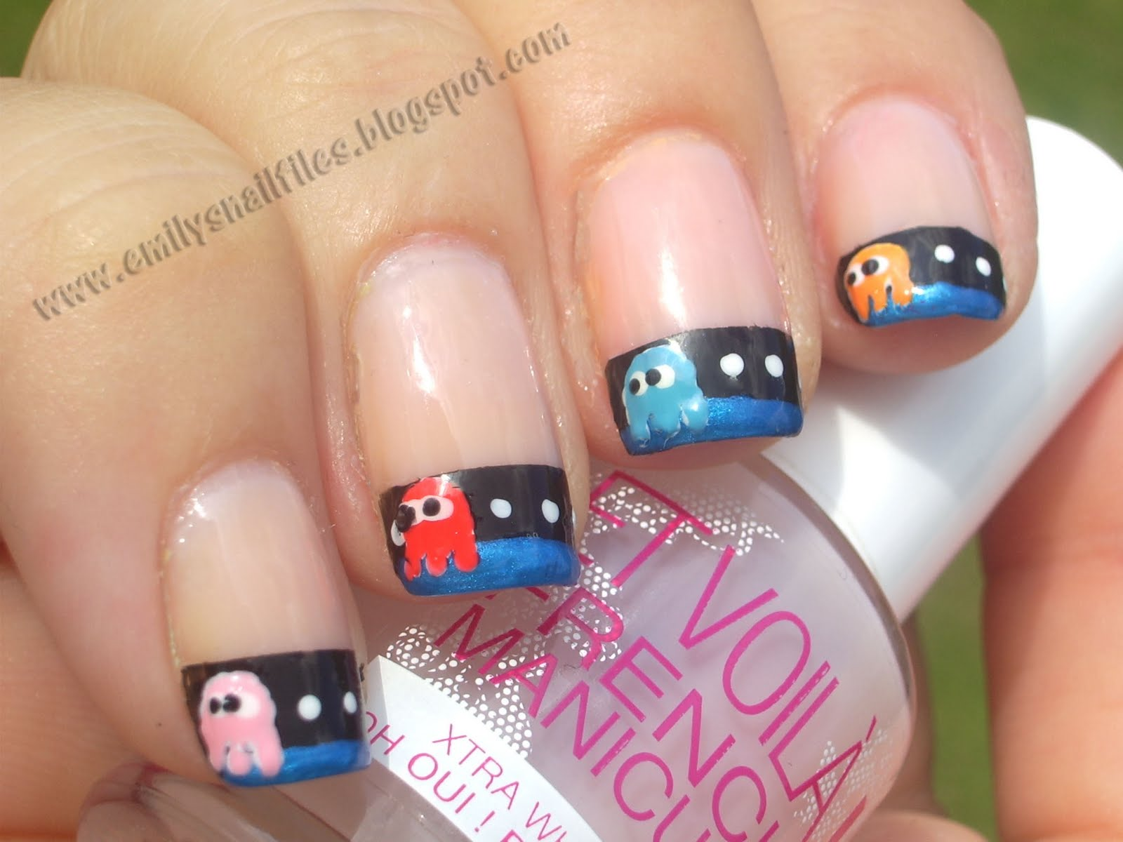Craft Nail Pacman French Manicure