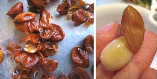 Descascando alimentos facilmente - Amendoas