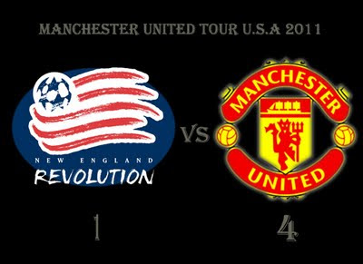 New England Revolution v Manchester United Pre Season Tour Usa