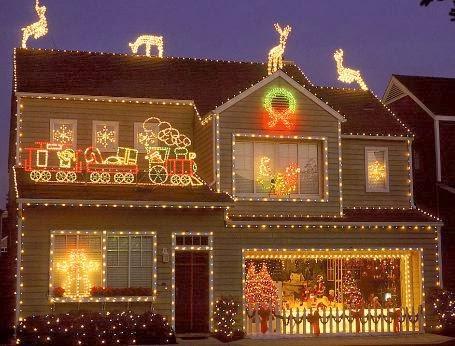 Nuestra primera navidad en miami from spain to miami for Casas decoradas en navidad