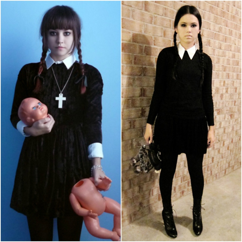 Adams Family Wednesday Addams Halloween Costume Ideas Fashion Blog Fancy Dress Outfits