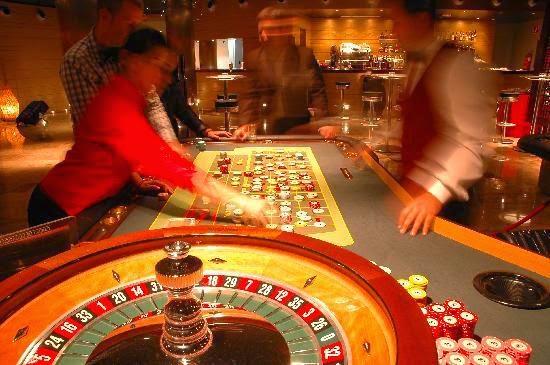 La ruleta, juegos de azar, casinos