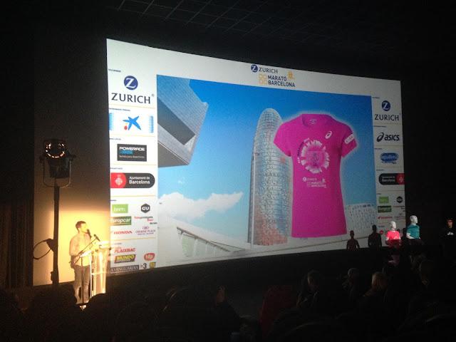 Camiseta mujer Zurich Marató Barcelona 2016