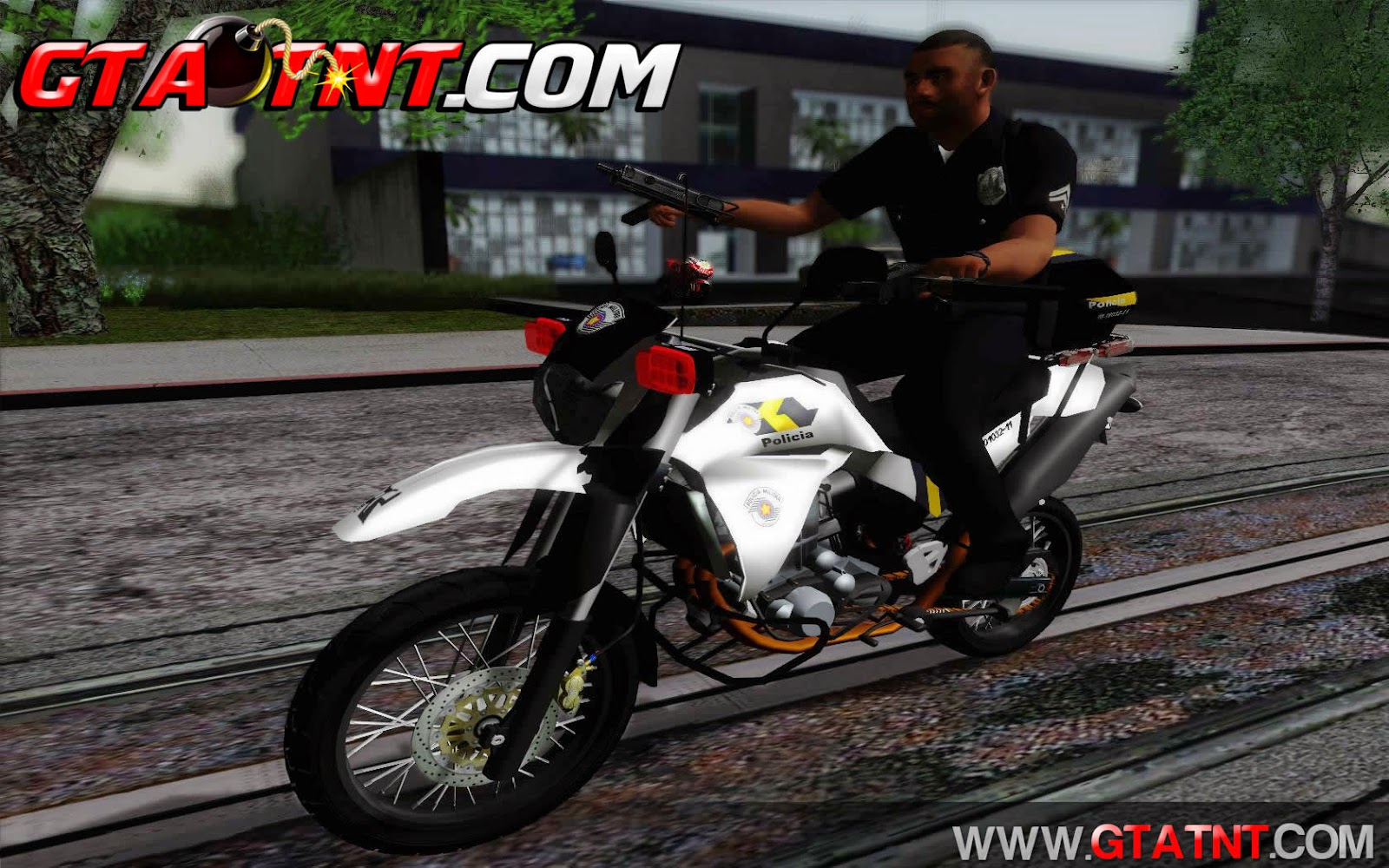 Yamaha XT660 2014 PMESP para GTA San Andreas