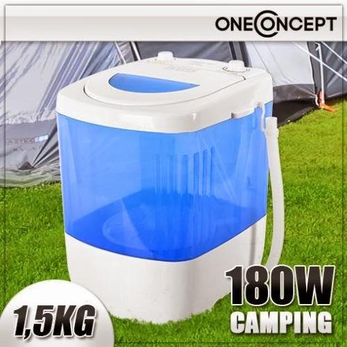Mini lavatrice snella lavabiancheria campeggio 1 5 kg 180 for Mini lavatrice