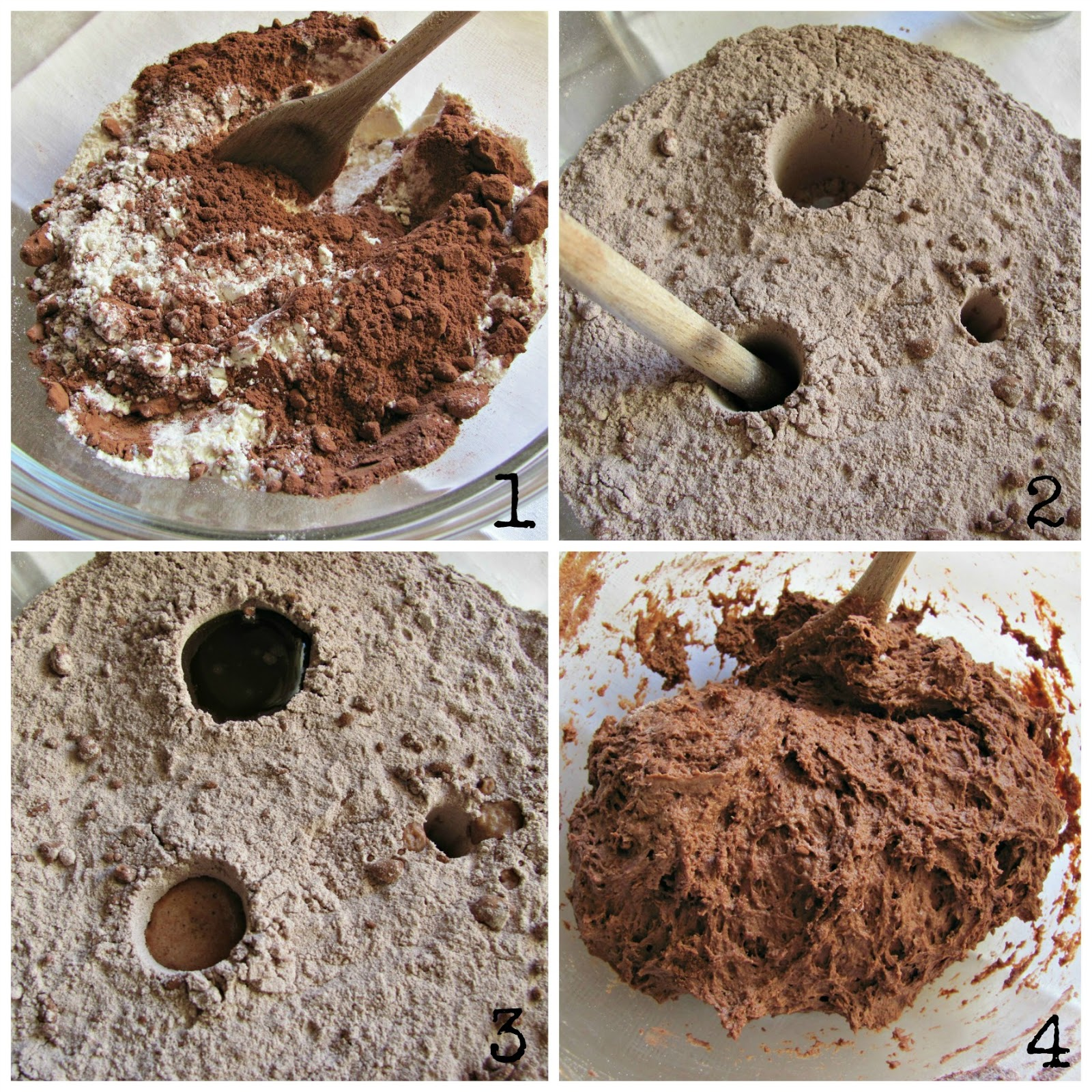 ricetta three hole cake