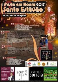 Santo Estêvão- Festas em Hª de Santo Estêvão 2017